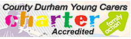 County Durham Young Carers Charter Accredited