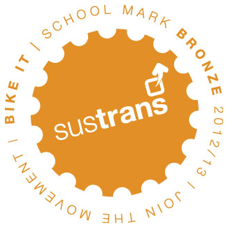 Sustrans Bronze mark